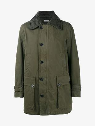 Dries Van Noten military cotton parka