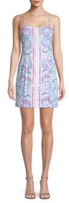 Lilly Pulitzer Shelli Print Mini Dress