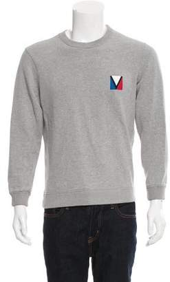 Louis Vuitton Crew Neck Logo Print Sweatshirt