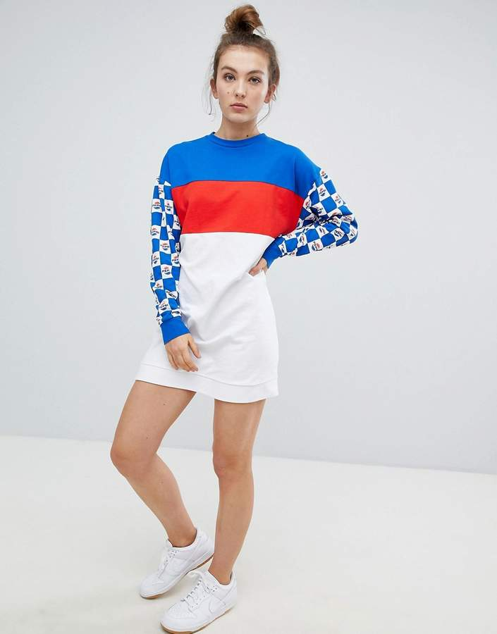 DESIGN – Pepsi – Sweatshirt-Kleid