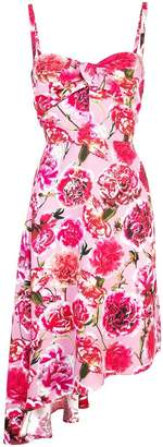 Carmen March floral print dress
