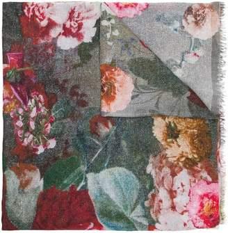 Faliero Sarti floral print frayed scarf