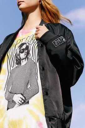 Urban Outfitters Kurt Cobain Tie-Dye T-Shirt Dress