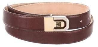 Pierre Balmain Leather Waist Belt