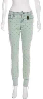 Thomas Wylde Mid-Rise Skinny Jeans