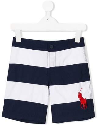 Ralph Lauren Kids striped swim shorts