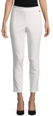 Calvin Klein Plus Pull-On Cropped Pants