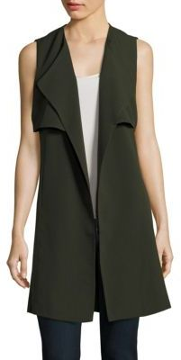 Solid Sleeveless Vest $201 thestylecure.com
