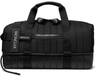 Craig Green Moncler Genius 5 Moncler Quilted Canvas, Leather And Mesh Holdall
