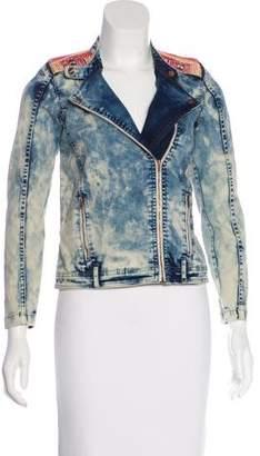 Scotch R'Belle Girls' Denim Embroidered Jacket
