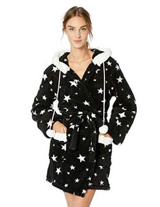 PJ Salvage Women's Cozy Plush Bath Robe