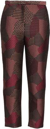 Rosetta Getty Cropped Jacquard Tapered Pants