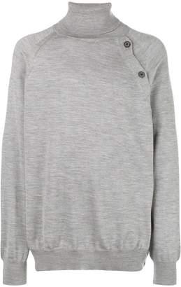 Lanvin oversized turtleneck sweater