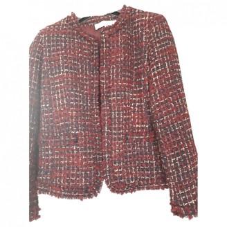 Gerard Darel Burgundy Wool Jacket for Women