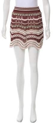 Missoni Crochet Mini Skirt