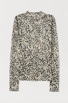 H&M Airy jersey top