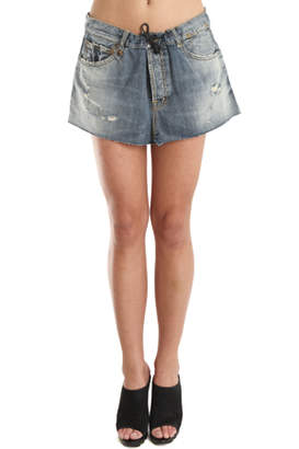 R 13 Denim Blue Skirt