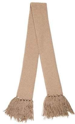 Fabiana Filippi Chunky Knit Fringe Scarf