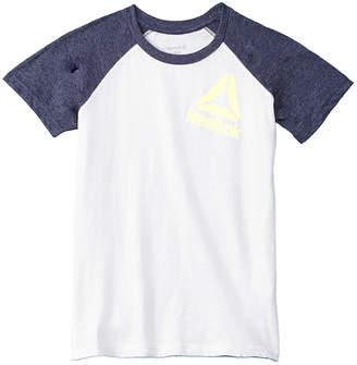 Reebok Boys' Tilted Logo T-Shirt