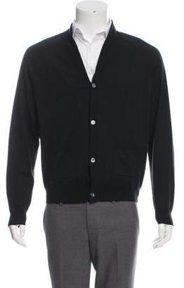 Dries Van Noten Lightweight Shawl Collar Cardigan