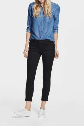DL1961 Florence Black Cropped Skinny
