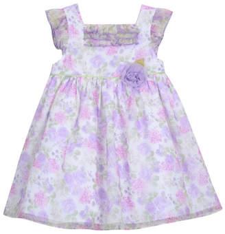 Laura Ashley Girl Ruffle Sleeve Party Dress