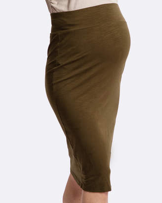 Laudes Bamboo Maternity Skirt