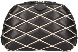 Louis Vuitton Alma leather clutch bag