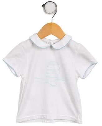 Christian Dior Boys' Short Sleeve Knit Shirt