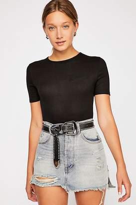 One Teaspoon Oneteaspoon OneTeaspoon Vanguard Mid-Rise Relaxed Skirt