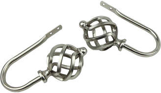 JCPenney ROD DESYNE Rod Desyne Decorative Holdbacks with Twist Finials