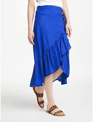 Nümph Citrine Skirt, Blue Print