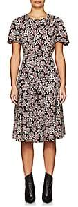 Etoile Isabel Marant Women's Lexia Abstract-Print Crepe A-Line Dress - Black