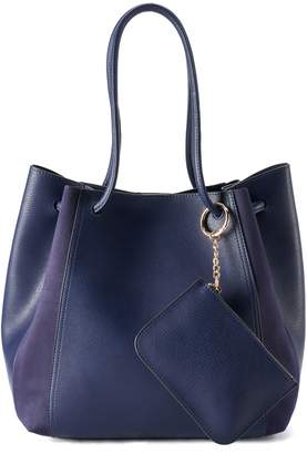 Lauren Conrad Unlined Drawstring Tote with Pouch