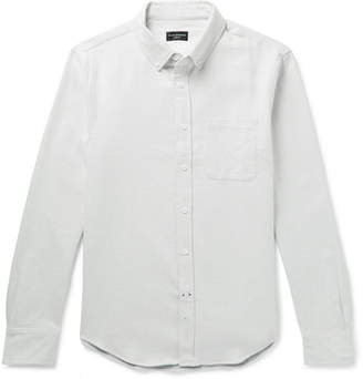 4fe13a7692 Club Monaco Slim-Fit Button-Down Collar Double-Faced Cotton Shirt