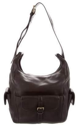 Chloé Leather Buckle Hobo