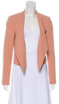 Alice + Olivia Long Sleeve Crop Blazer w/ Tags Pink Long Sleeve Crop Blazer w/ Tags