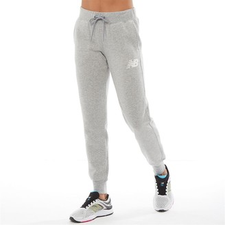 New Balance Womens Core Tapered Sweat Pants Athletic Grey