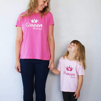 a58ec2056 Sparks And Daughters Personalised Fairy Tale T Shirt Set