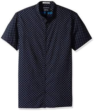 Scotch & Soda Men's Classic Shortsleeve Oxford Shirt