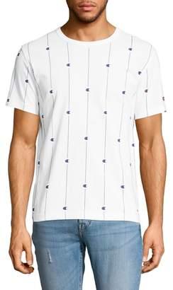 Champion Allover Print Crewneck T-Shirt