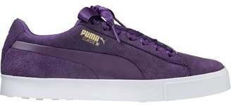 Puma Women's Spikeless Suede G Golf Shoes Majesty Purple