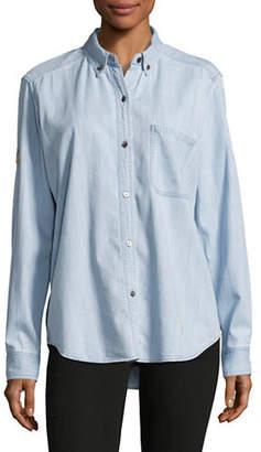 Rails Embroidered Denim Shirt