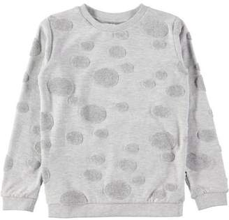Molo Manee Sweatshirt Light Grey Melange