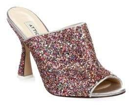 ATTICO Glitter Mules