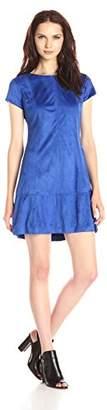 Jessica Simpson Women's Faux Suede Dress,6