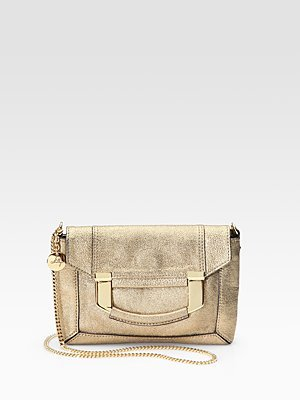 Paige Metallic Mini Bag