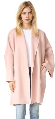 Helmut Lang Double Face Wool Coat $1,195 thestylecure.com