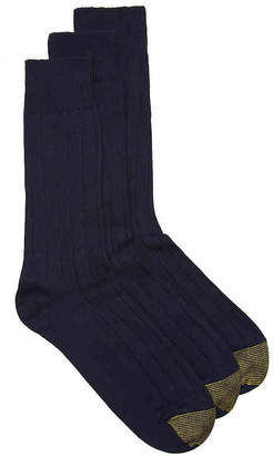 Gold Toe Hampton Dress Socks - 3 Pack - Men's
