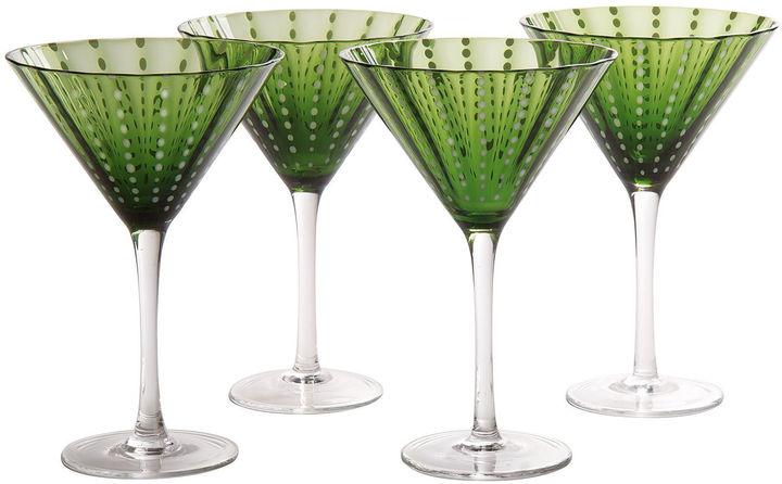ArtlandARTLAND Cambria Set of 4 Martini Glasses
